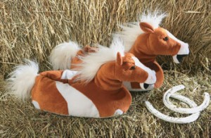 Horse Slippers